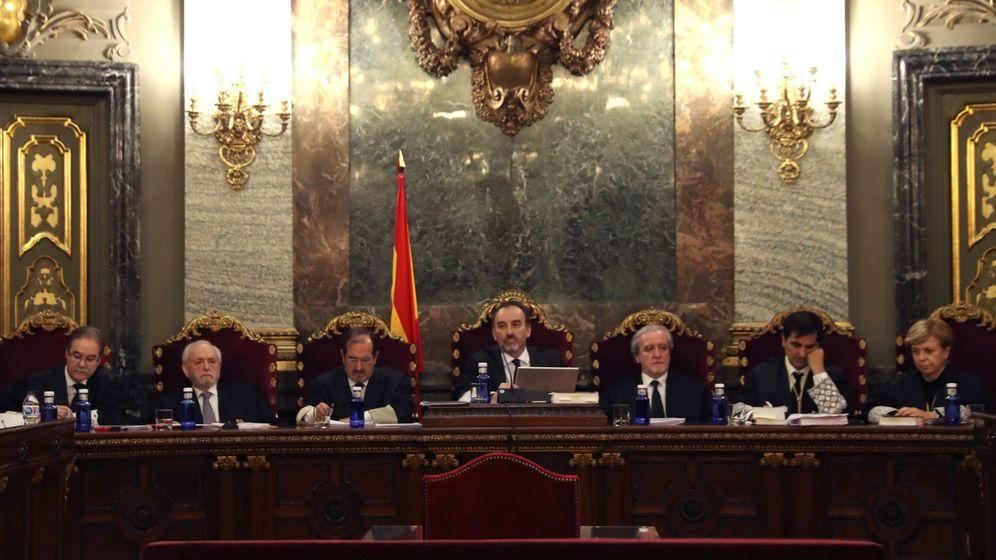 Foto: El tribunal del 'procés'. (EFE)