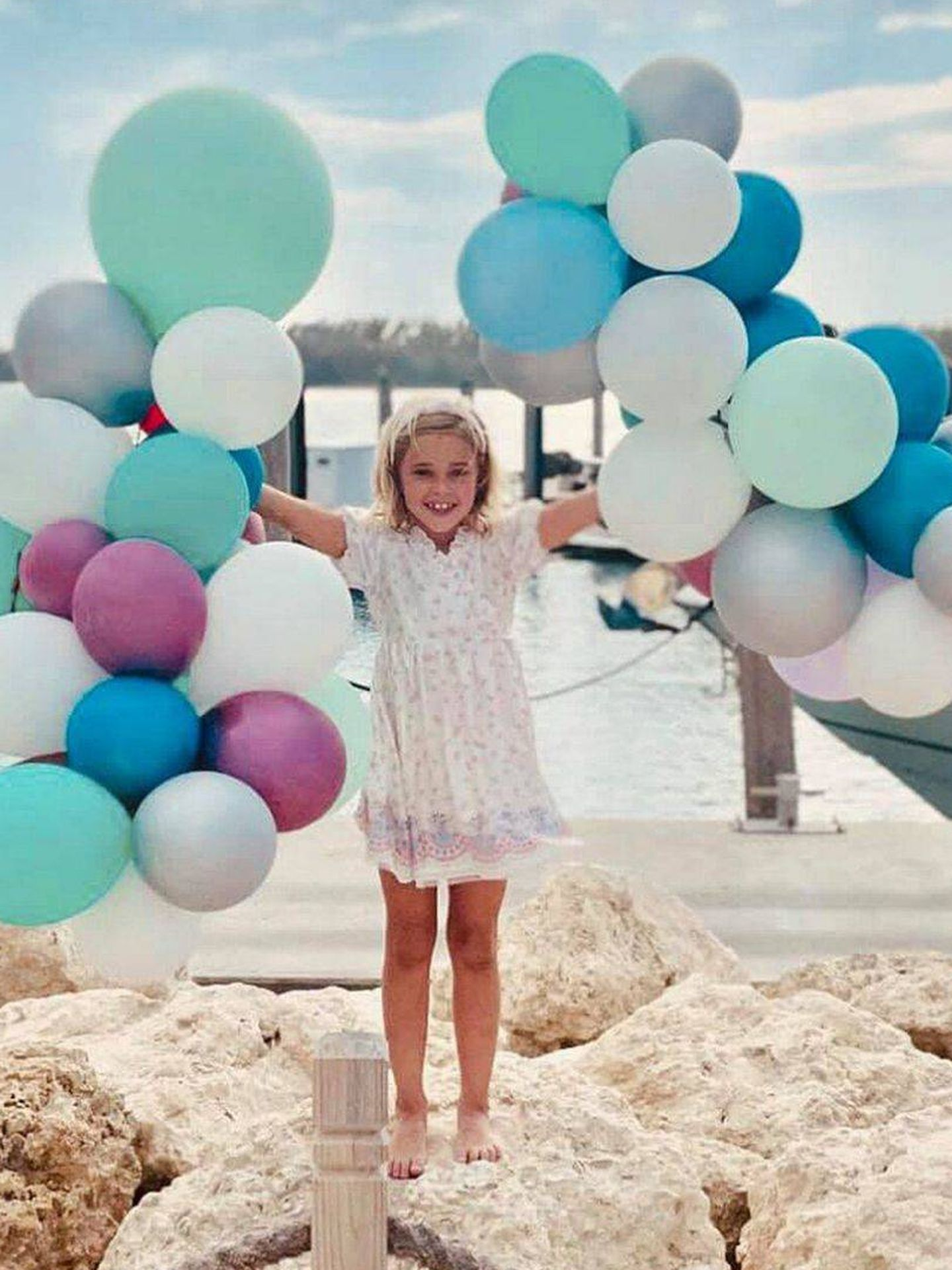 Leonore, celebrando su séptimo cumpleaños. (Facebook)