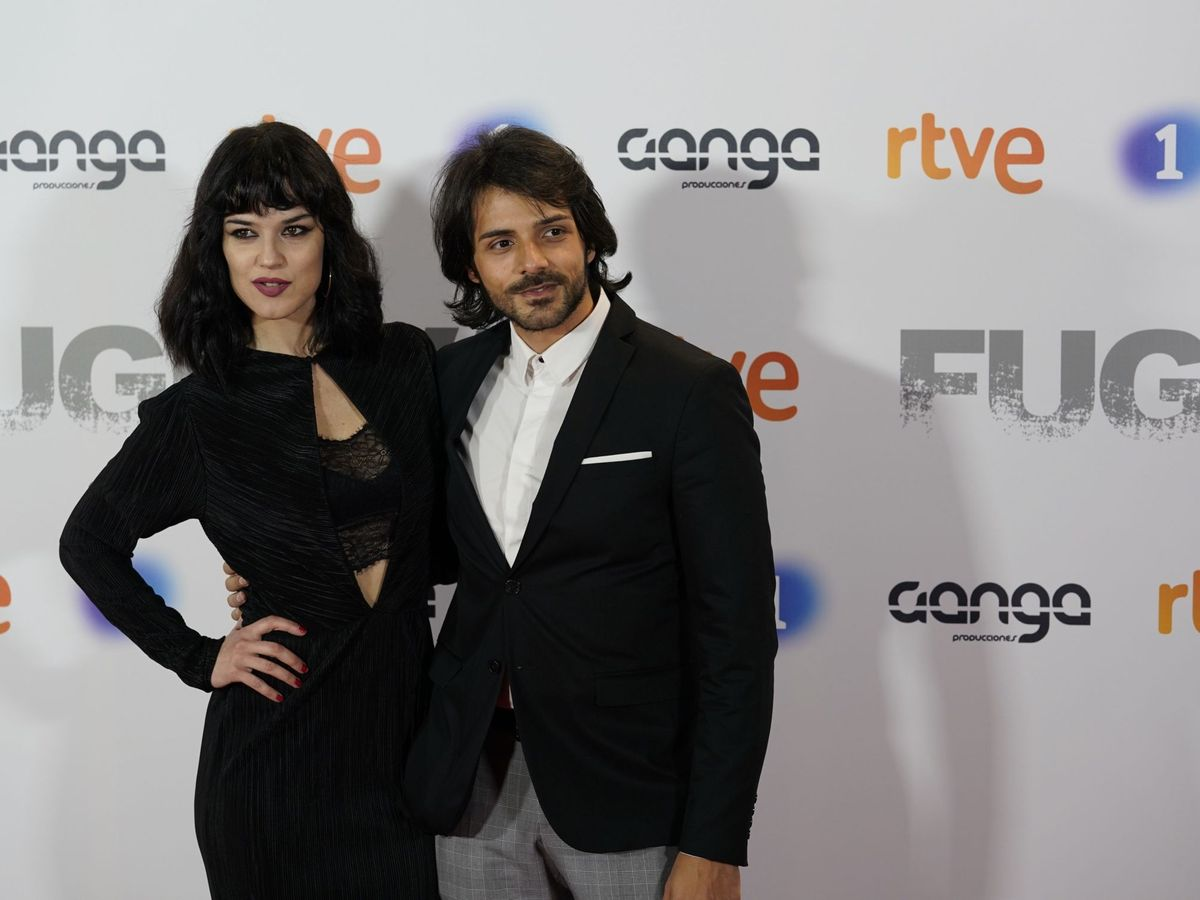 Foto: Sara Vega y su ex, el guitarrista Juan Habichuela Nieto. (Cordon Press)