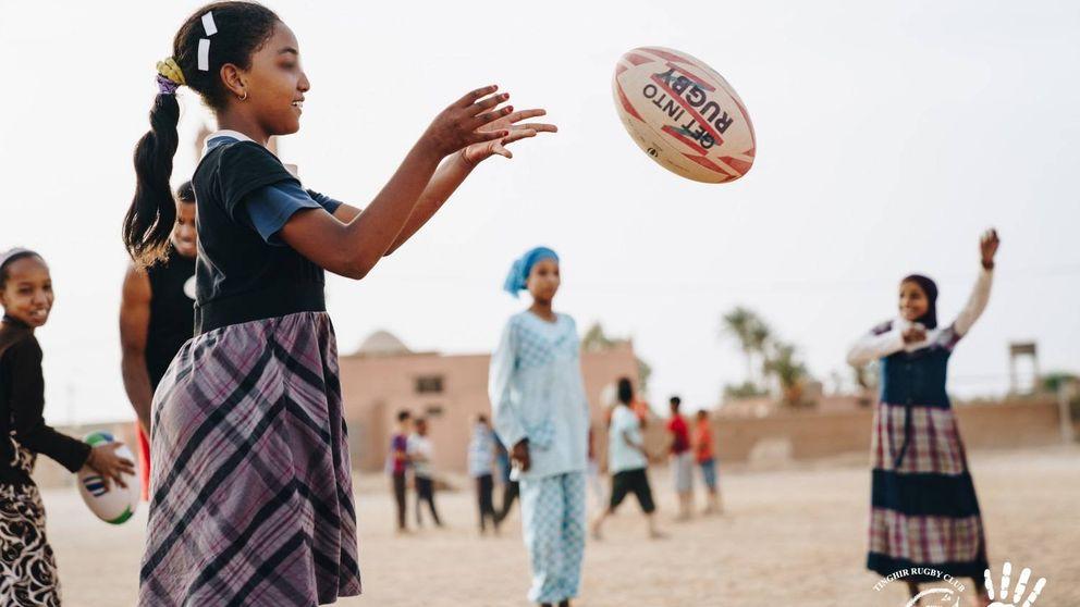 Lo que aprendí dando patadas a un balón de rugby en el desierto de Marruecos