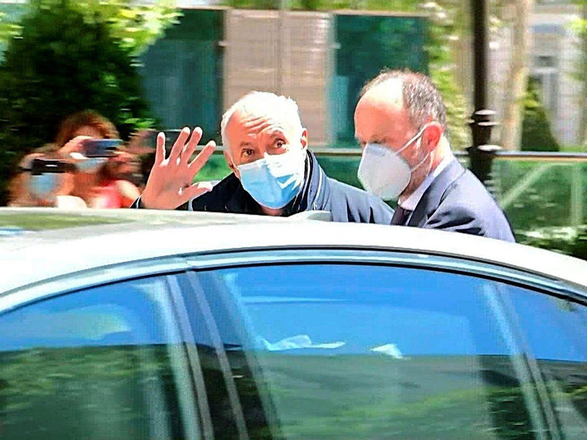 Foto: José Luis Moreno, a su salida de la Audiencia Nacional. (EFE)