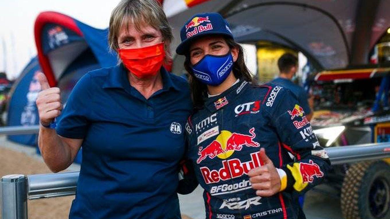 Cristina Gutiérrez, la española que ya sabe cómo es mandar en un Dakar