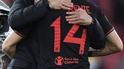 Así se 'inventó' Simeone a Marcos Llorente, el '9' de moda del Atlético para la Champions