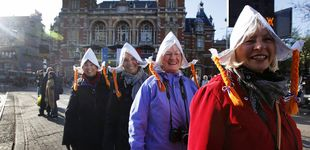 Post de  En Ámsterdam no caben más turistas: