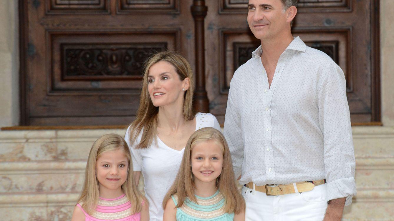 Foto: La familia Borbón Ortiz, en una imagen de archivo (Gtres)