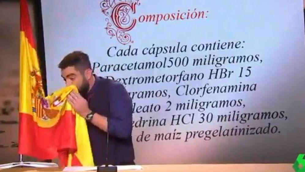 Foto: Dani Mateo en 'El Intermedio'