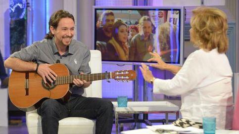 Pablo Iglesias le enseña a María Teresa Campos la nana que le cantaba su madre