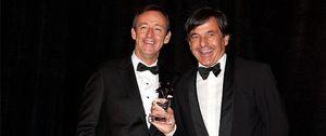 Emilio Sánchez Vicario recibe un premio de la Cámara de Comercio España-EE.UU.