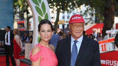 Niki Lauda: el día que su mujer, 30 años más joven que él, le salvó la vida