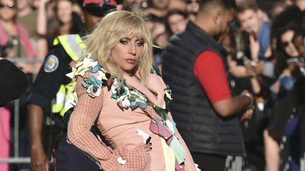 Foto: Lady Gaga durante la presentación de su documental en Toronto. (Gtres)