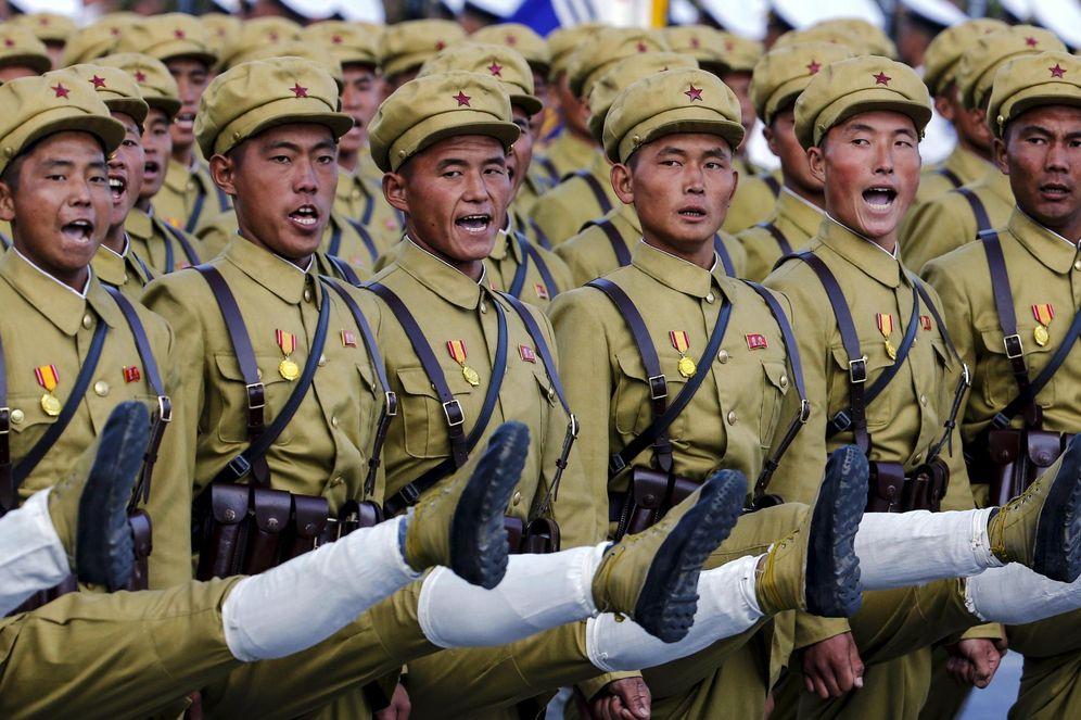 Foto: Foto de archivo de un desfile de soldados norcoreanos. (REUTERS)