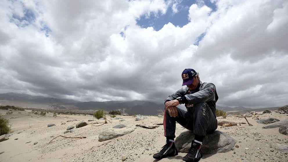 Sainz, un hombre con suerte, aunque aquel Toyota no quisiera arrancar