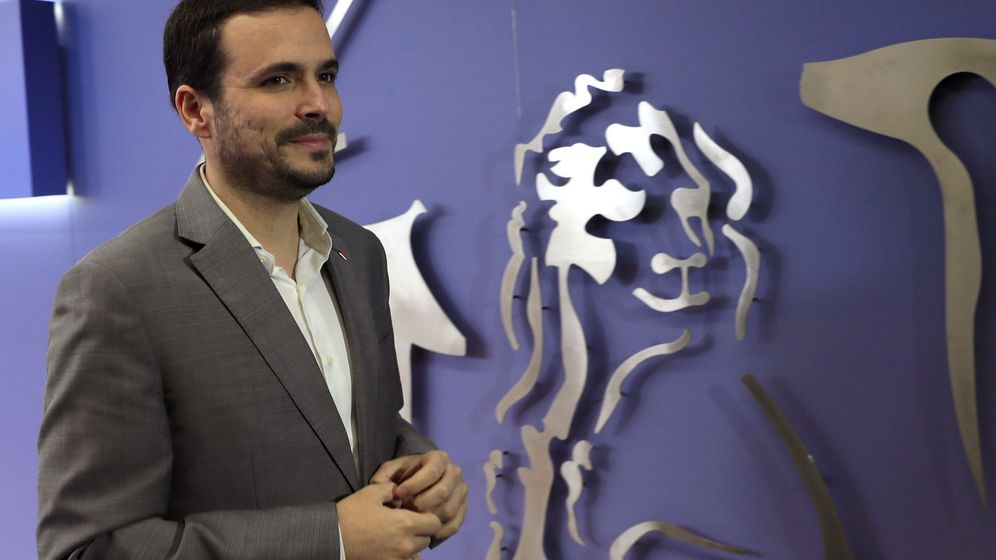 Foto: El líder de IU, Alberto Garzón. (EFE)