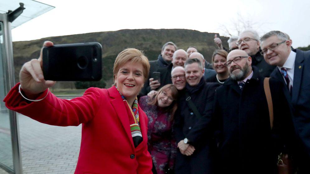 Foto: La líder del SNP, Nicola Sturgeon. (Reuters)