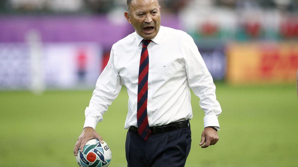 Foto: Eddie Jones, durante los cuartos de final entre su selección, Inglaterra, y Australia. (Reuters)
