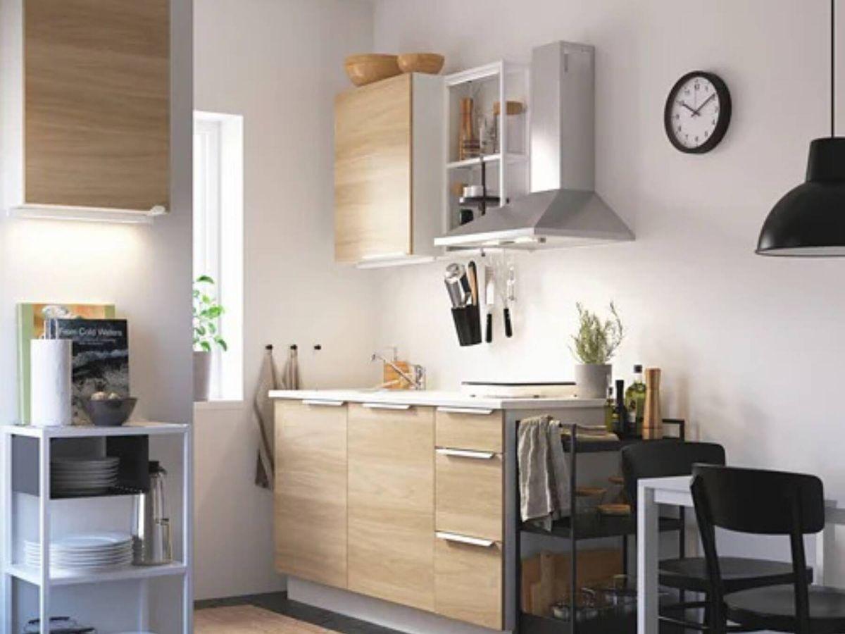 Foto: Ideas de Ikea para decorar una cocina pequeña y sacarle el mayor partido. (Cortesía)