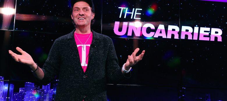 Foto: John Legere es el CEO de la firma de telefonía T-Mobile