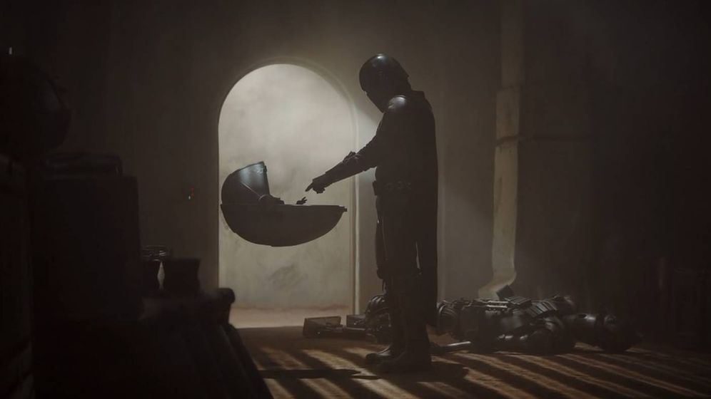 Foto: Fotograma de la serie 'The Mandalorian'. (Disney+)