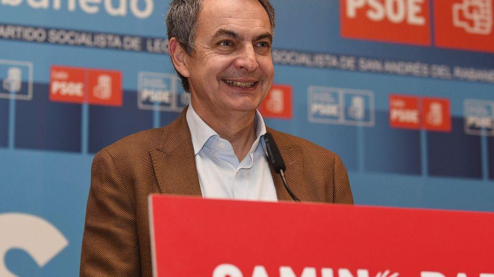 Foto: El expresidente del Gobierno José Luis Rodríguez Zapatero. (EFE)
