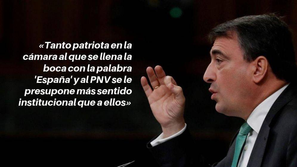 Foto: Aitor Esteban, en el Congreso. (EFE/EC)