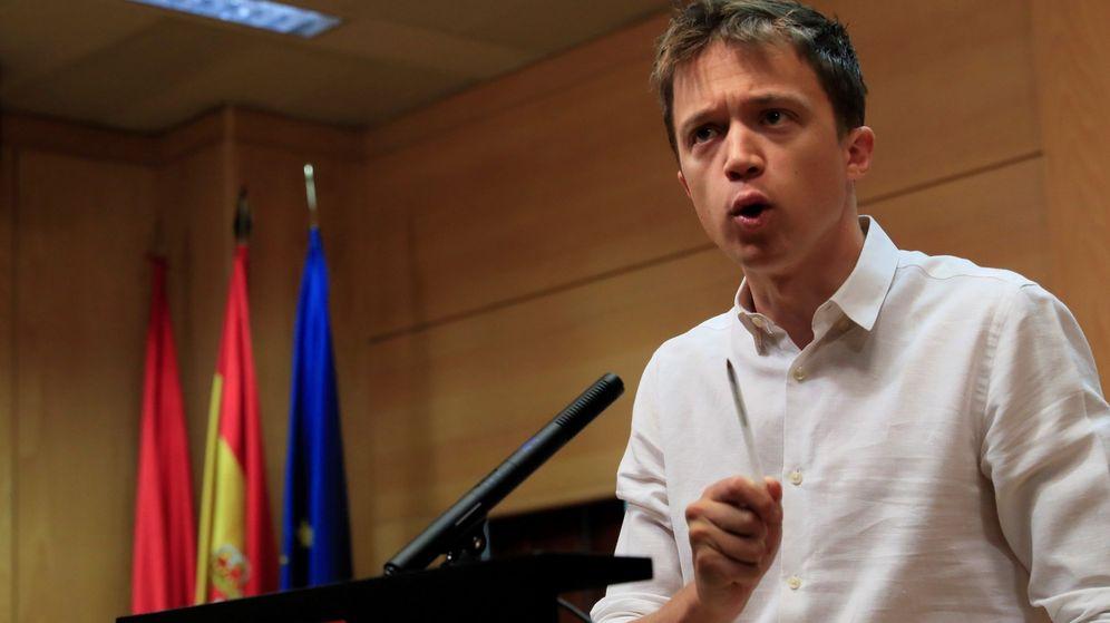 Foto: Íñigo Errejón, representante del grupo parlamentario de Más Madrid. (EFE)