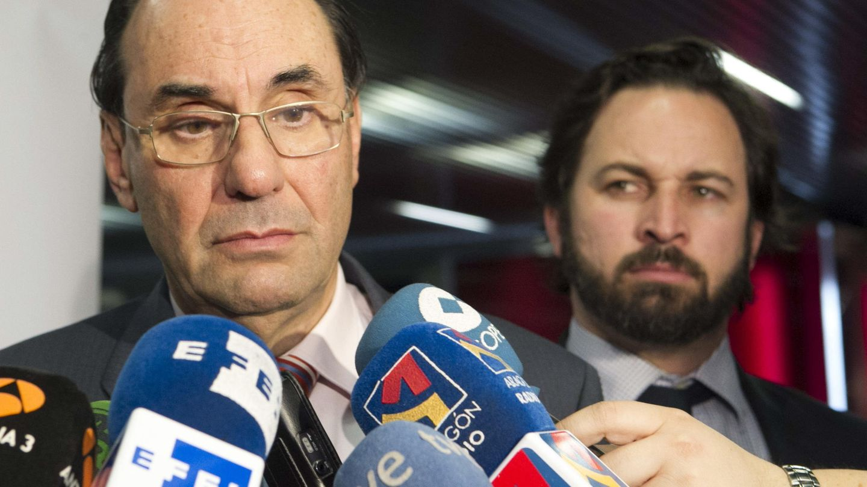 Vidal-Quadras y Abascal, en una imagen de archivo. (EFE)
