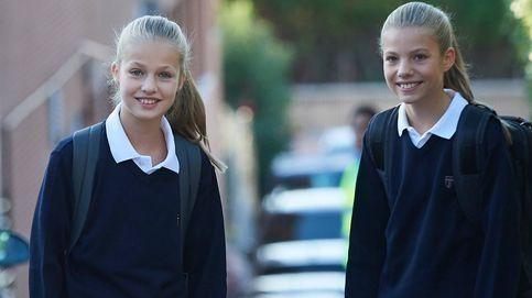 Leonor y Sofía, los cambios escolares de la Princesa y la Infanta tras Filomena