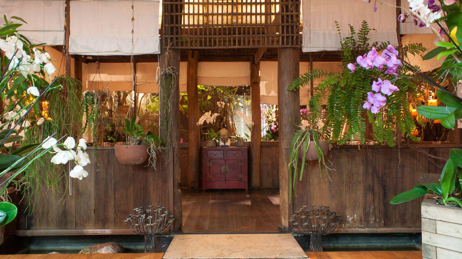 Foto: Restaurante Indochine.
