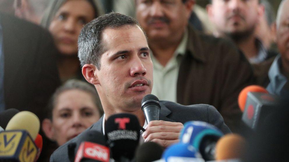 Guaidó anuncia paros en Venezuela tras reunirse con los sindicatos