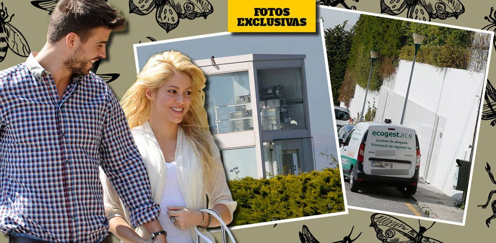 Foto: Piqué y Shakira en un fotomontaje elaborado por Vanitatis.