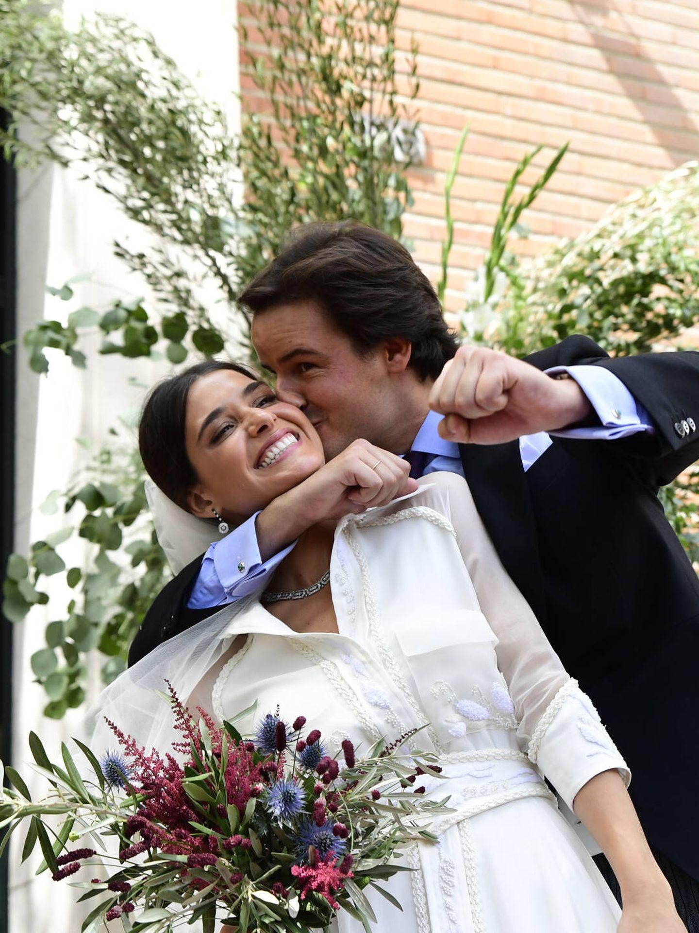 Santiago Benjumea y Lucía Martín Alcalde. (LP)