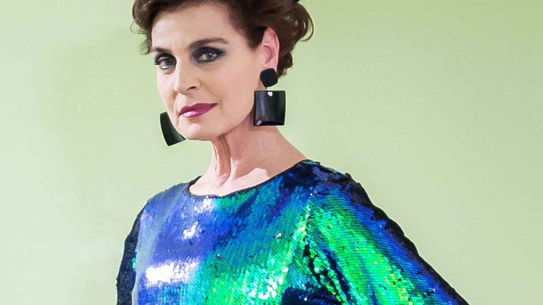 Antonia Dell'Atte, en una promoción de 'Ven a cenar conmigo'. (Cuatro)