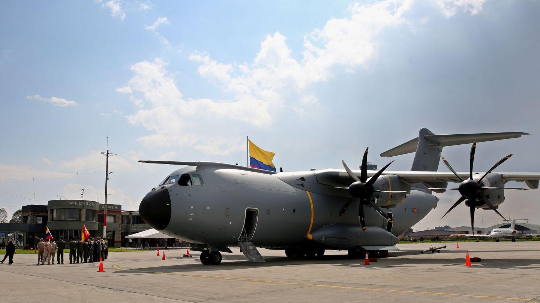 Imagen de un ejemplar A400M, fabricado por Airbus para tareas de transporte y logística militar. (EFE)