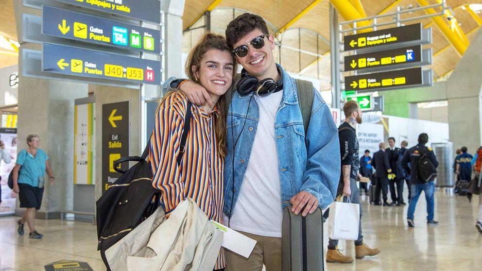 Eurovisión 2018 | Amaia y Alfred ponen rumbo a Lisboa