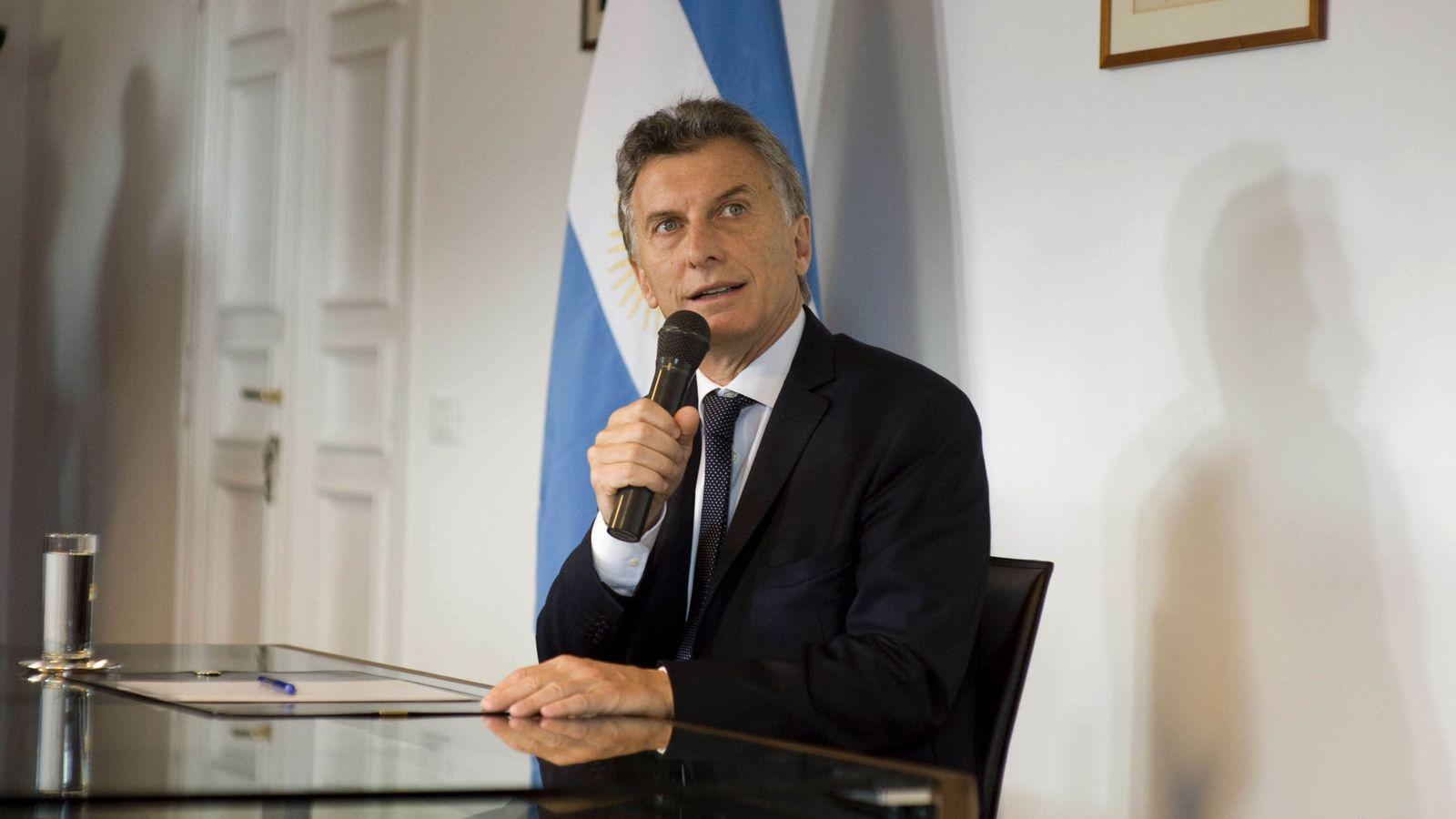 Foto: El presidente de Argentina Mauricio Macri. (EFE)