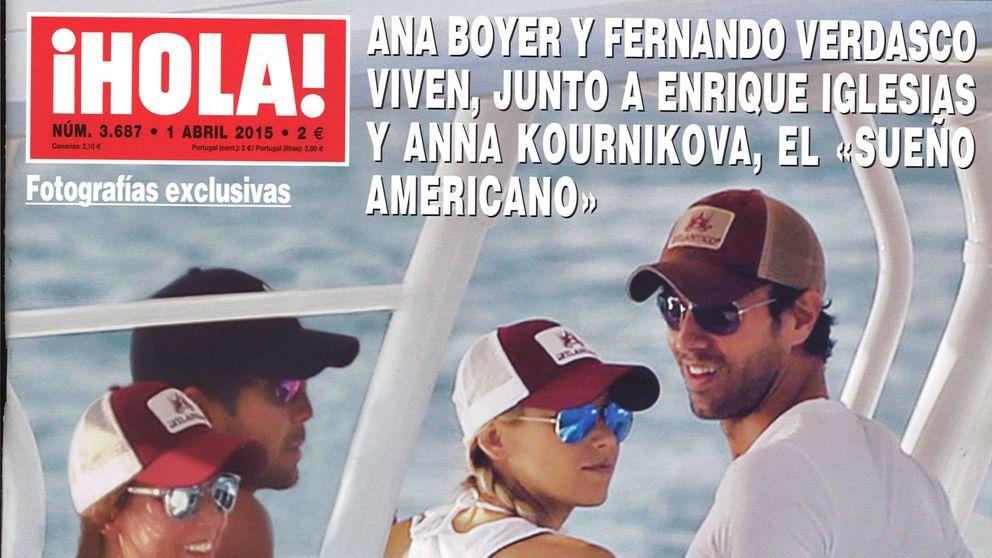 Las portadas de los miércoles: Ana Boyer y Verdasco, escapada a Miami junto a Enrique Iglesias y Anna Kournikova