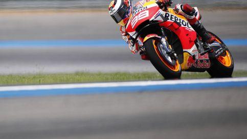 Las nuevas ideas de Jorge Lorenzo para su moto... y la dichosa rueda delantera