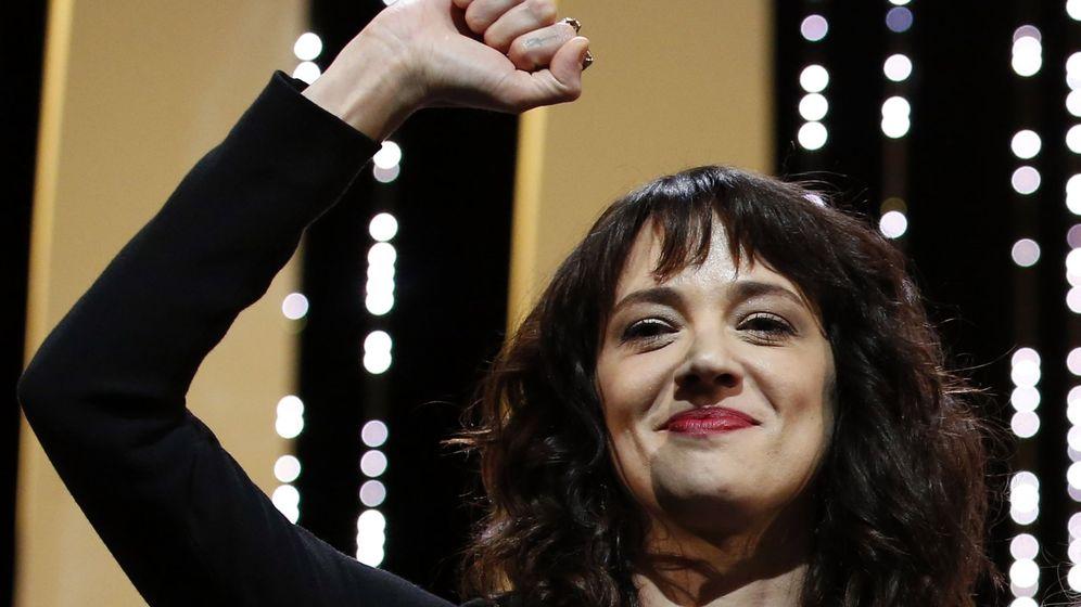 Foto: Asia Argento en el festival de Cannes. (Reuters)