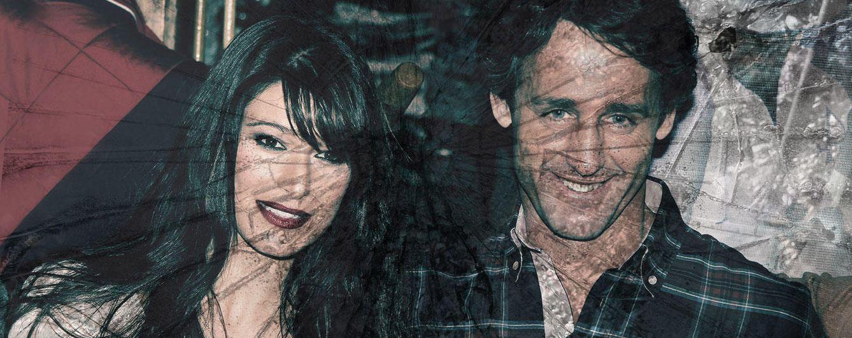 Foto: Sonia Ferrer y Álvaro Muñoz Escassi, en un montaje realizado por 'Vanitatis'