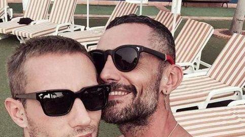 La emotiva despedida de Pablo Sáez, novio de David Delfín