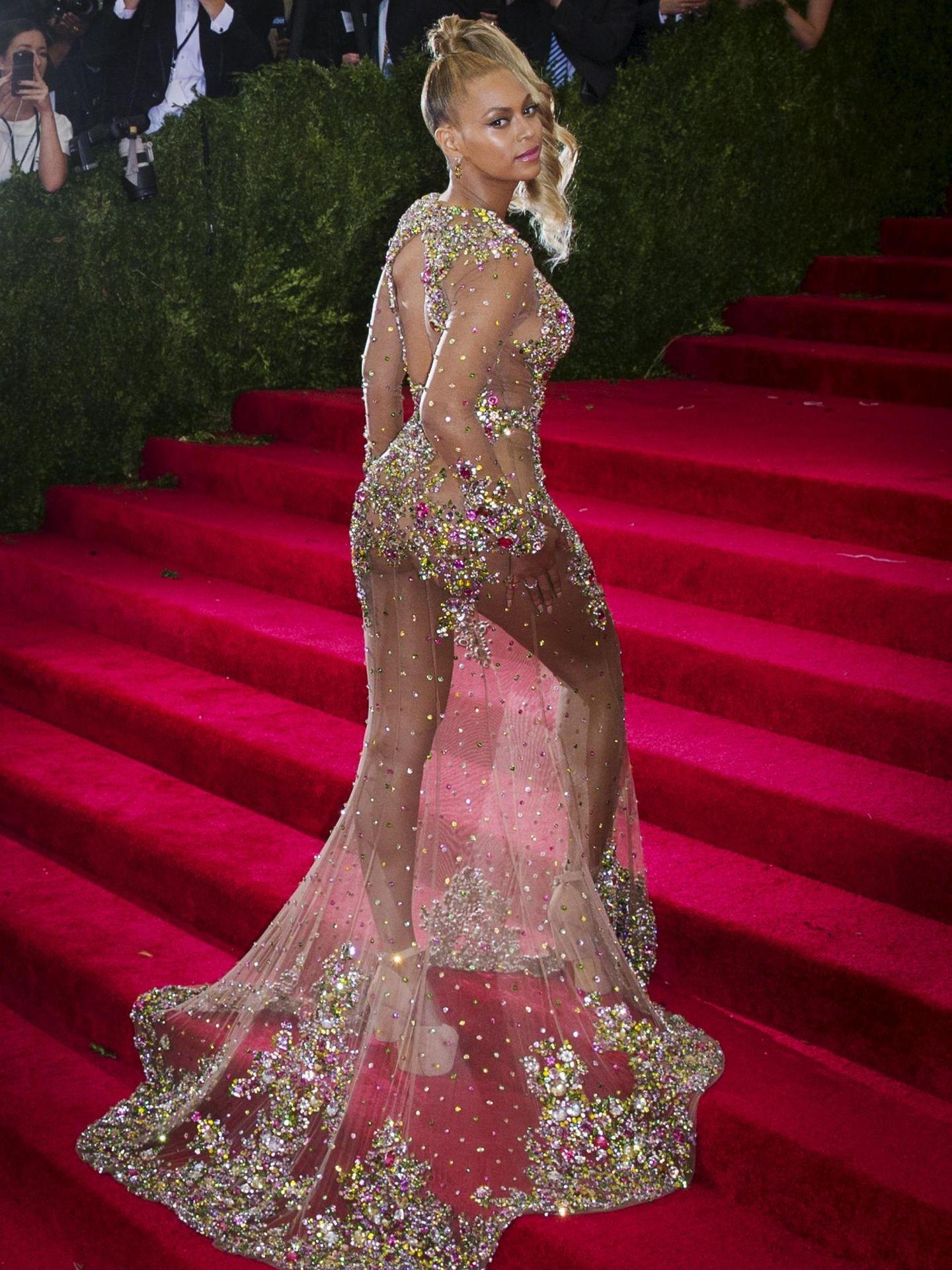 Beyoncé en la gala MET de 2015. (Reuters)
