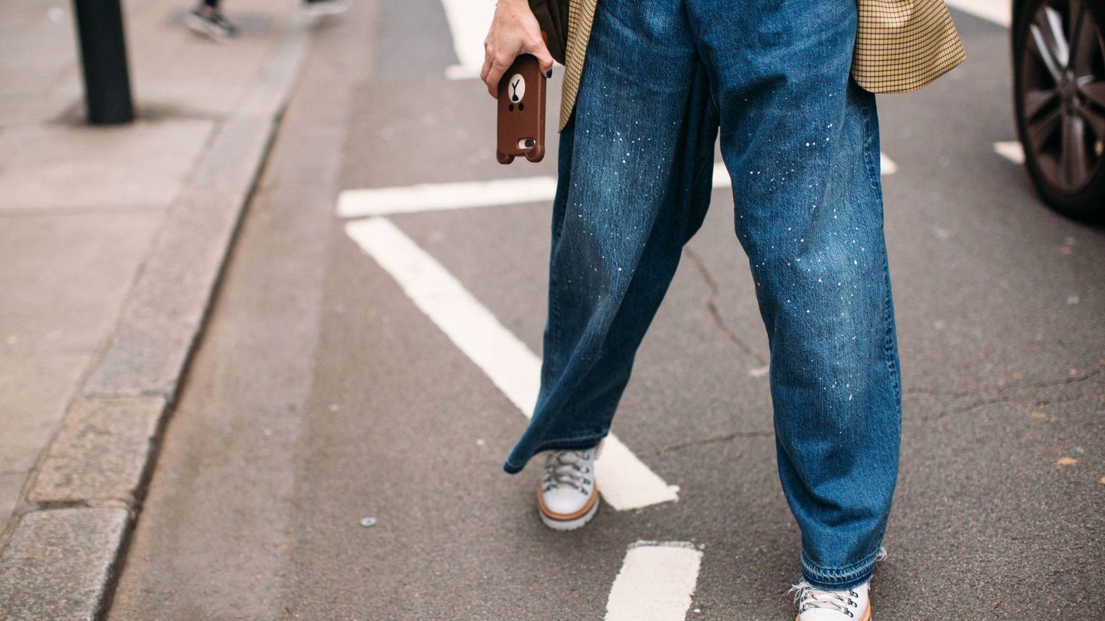Foto: Las botas montañeras dominan las calles. (Imaxtree)