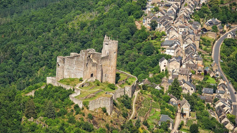 Foto: Najac. (©Turismo de Aveyron)