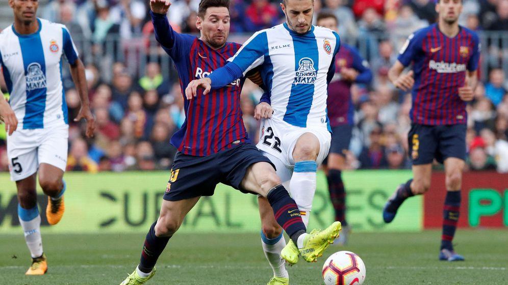 Foto: Mario Hermoso se formó en el Real Madrid. Desde 2017 juega en el Espanyol. (Reuters)