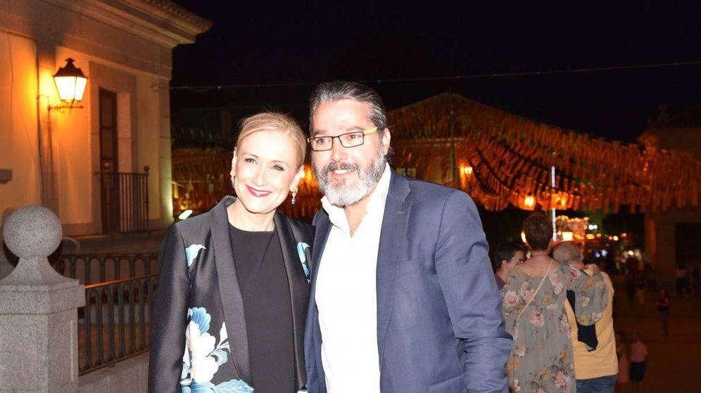 Foto: Borja Gutiérrez, con Cristina Cifuentes.