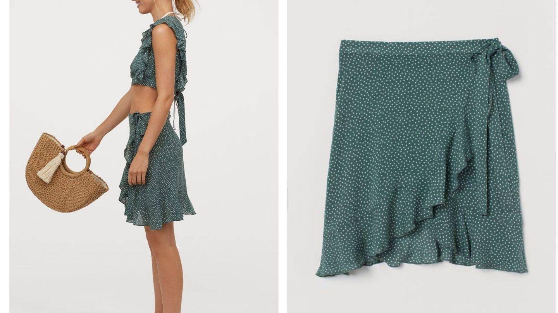 La falda de HyM (Cortesía)