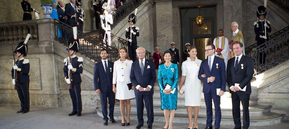 Foto: El rey Carlos Gustavo cumple 40 años en el trono