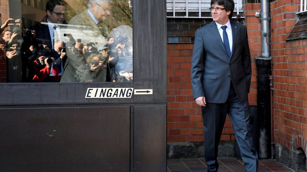 Puigdemont dice que un preso le grabó en la cárcel alemana vestido de prisionero