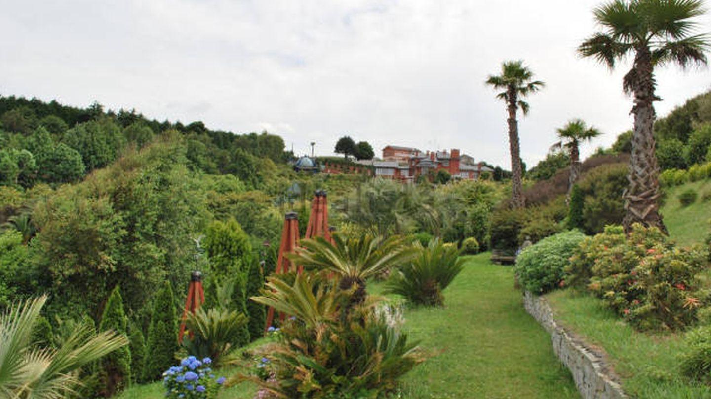 Los jardines cuentan con cientos de especies de plantas distintas. (Idealista)