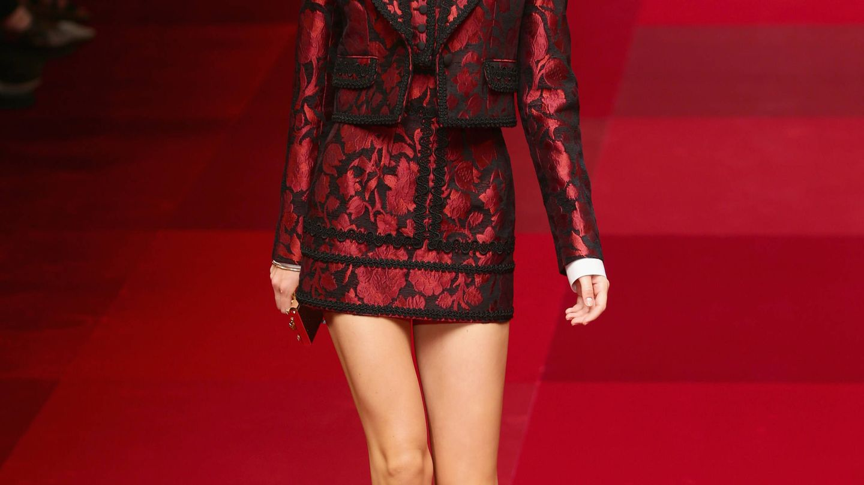 Desfile de Dolce & Gabbana.